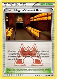 Team Magma's Secret Base, Pokemon, Double Crisis