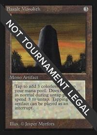 Basalt Monolith (IE), Magic, International Edition