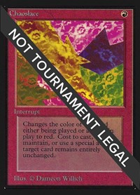 Chaoslace (IE), Magic: The Gathering, International Edition