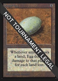 Dingus Egg (IE), Magic: The Gathering, International Edition