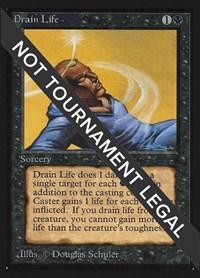 Drain Life (IE), Magic: The Gathering, International Edition