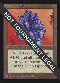 Gauntlet of Might (IE), Magic: The Gathering, International Edition