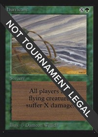 Hurricane (IE), Magic: The Gathering, International Edition