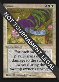 Karma (IE), Magic: The Gathering, International Edition