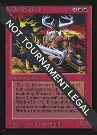 Keldon Warlord (IE), Magic: The Gathering, International Edition
