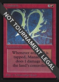 Manabarbs (IE), Magic, International Edition