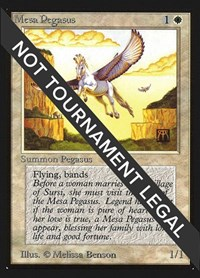 Mesa Pegasus (IE), Magic: The Gathering, International Edition