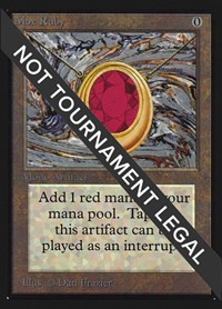 Mox Ruby (IE), Magic, International Edition