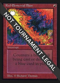 Red Elemental Blast (IE), Magic, International Edition