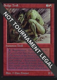Sedge Troll (IE), Magic, International Edition