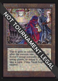 Time Vault (IE), Magic: The Gathering, International Edition