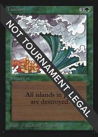 Tsunami (IE), Magic: The Gathering, International Edition