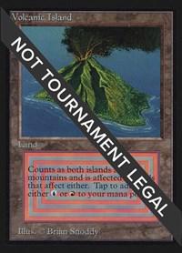 Volcanic Island (IE), Magic: The Gathering, International Edition