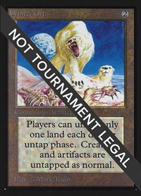 Winter Orb (IE), Magic: The Gathering, International Edition