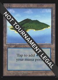 Island (B) (IE), Magic: The Gathering, International Edition