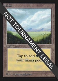 Plains (A) (IE), Magic: The Gathering, International Edition