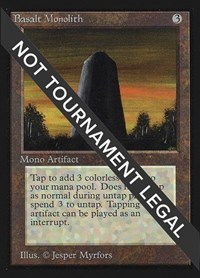 Basalt Monolith (CE), Magic, Collector's Edition
