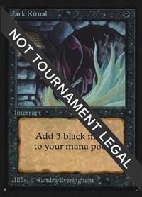Dark Ritual (CE), Magic: The Gathering, Collector's Edition