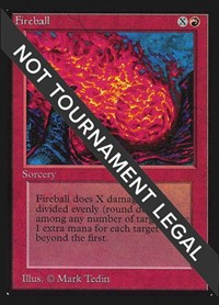 Fireball (CE), Magic: The Gathering, Collector's Edition