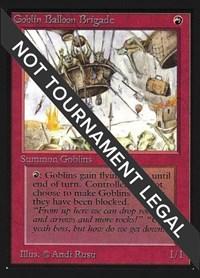 Goblin Balloon Brigade (CE), Magic: The Gathering, Collector's Edition