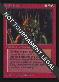 Goblin King (CE), Magic: The Gathering, Collector's Edition