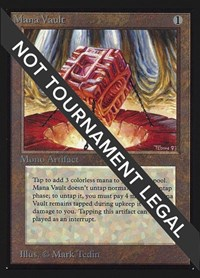 Mana Vault (CE), Magic: The Gathering, Collector's Edition