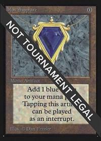 Mox Sapphire (CE), Magic, Collector's Edition