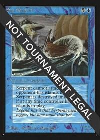 Sea Serpent (CE), Magic, Collector's Edition