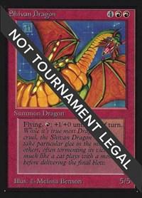 Shivan Dragon (CE), Magic: The Gathering, Collector's Edition