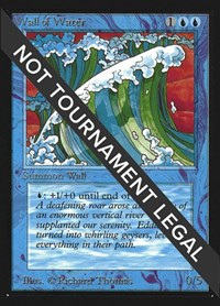 Wall of Water (CE), Magic: The Gathering, Collector's Edition