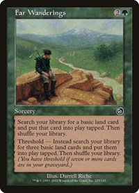 Far Wanderings, Magic: The Gathering, Torment