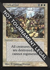Wrath of God (CE), Magic: The Gathering, Collector's Edition