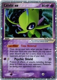 Celebi ex (Holo), Pokemon, POP Series 2