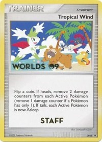 Tropical Wind (2009 Staff), Pokemon, Diamond and Pearl Promos