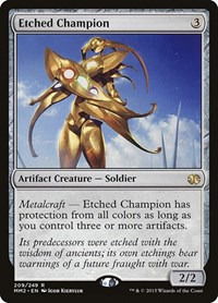 Etched Champion, Magic: The Gathering, Modern Masters 2015