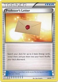 Professor's Letter (Noivern), Pokemon, XY Trainer Kit: Sylveon & Noivern