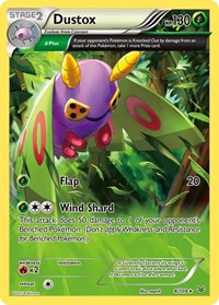 Dustox (8 Delta), Pokemon, XY - Roaring Skies