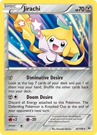 Jirachi, Pokemon, XY - Roaring Skies