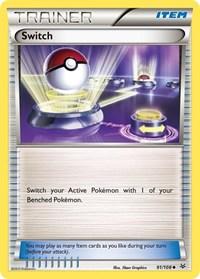 Switch, Pokemon, XY - Roaring Skies
