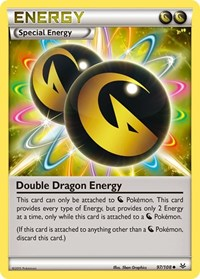 Double Dragon Energy, Pokemon, XY - Roaring Skies