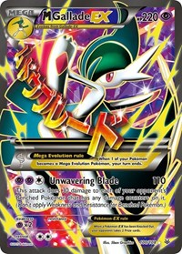 M Gallade EX (100 Full Art), Pokemon, XY - Roaring Skies