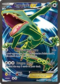 Rayquaza EX (104 Full Art), Pokemon, XY - Roaring Skies