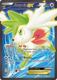 Shaymin EX (106 Full Art), Pokemon, XY - Roaring Skies