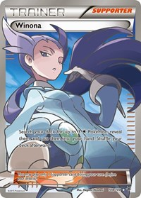 Winona (108 Full Art), Pokemon, XY - Roaring Skies