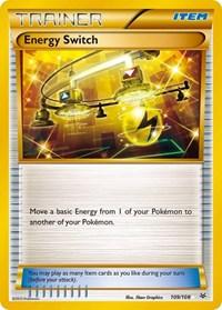 Energy Switch, Pokemon, XY - Roaring Skies