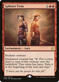 Splinter Twin, Magic: The Gathering, Modern Masters 2015