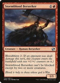Stormblood Berserker, Magic: The Gathering, Modern Masters 2015