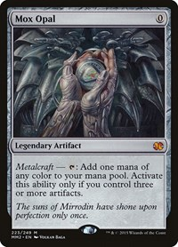 Mox Opal, Magic: The Gathering, Modern Masters 2015
