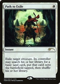Path to Exile, Magic: The Gathering, FNM Promos