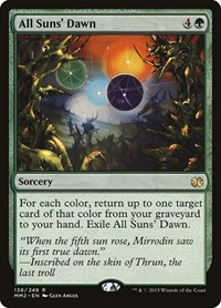 All Suns' Dawn, Magic: The Gathering, Modern Masters 2015